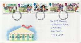 Great Britain Set On Used FDC - Celebrations
