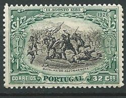 Portugal - Yvert N° 392 * - Cw 34341 - 1910 - ... Repubblica