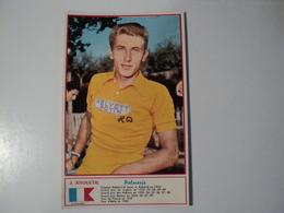 CARTE CYCLISME J. ANQUETIL. 1960. EQUIPE HELYETT POTIN. MIROIR SPRINT - Cyclisme