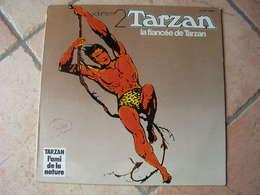 "33 Tours  - TARZAN Volume 2  "" LA FIANCEE DE TARZAN "" ( EDGAR RICE BURROUGHS ) - Soundtracks, Film Music"