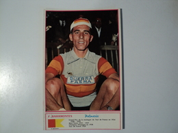 CARTE CYCLISME F. BAHAMONTES. EQUIPE GUERRA FAEMA. MIROIR SPRINT - Cyclisme