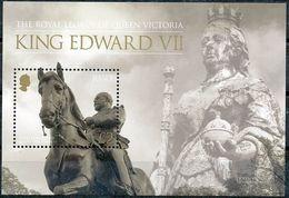 "Jersey 2013: ""Queen Victoria & Edward VII"" Michel-No.1707 Block 104 ** MNH - START BELOW POSTAL FACE VALUE (£ 2.00) - Monuments"