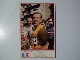 CARTE CYCLISME J. GROUSSARD. 1960. EQUIPE LEROUX HUTCHINSON. MIROIR SPRINT - Cyclisme