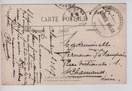 JS644/ CP Château Chambéry C.Armée Belge Correspondance Privée 1917 V.St Chamond - Army: Belgium