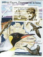 French Antarctic (FSAT), Alfred Faure, French Explorer, Crozet Islands, 2018, MNH VF - Unused Stamps