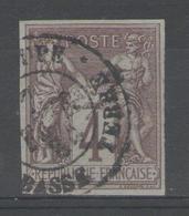 Colonies Générales:  N°39 Oblitéré BASSE TERRE/GUADELOUPE - Sage