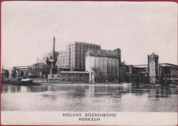 Merksem Merxem Fabrieken Albert Kanaal Albert Kanaal Binnenschip Barge Peniche Molens Boerenbond - Antwerpen