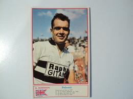 CARTE CYCLISME B. ROBINSON. MIROIR SPRINT. 1960. EQUIPE RAPHA GITANE - Cyclisme