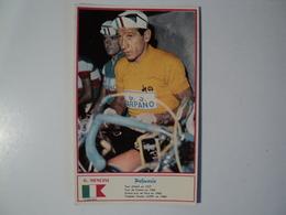 CARTE CYCLISME G. NENCINI. MIROIR SPRINT. 1960 - Cyclisme