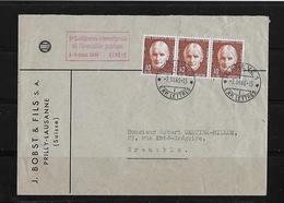 HEIMAT GENF → Brief J.Bobst & Fils Lausanne 1946 - Lettres & Documents