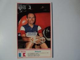 CARTE CYCLISME G. BAUVIN. MIROIR SPRINT. 1960 GEMINIANI ST RAPHAEL. - Cyclisme