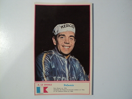 CARTE MIROIR SPRINT A. LE DISSEZ. CYCLISME. DEBUT ANNEES 60 MERCIER - Cyclisme