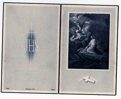 Ancienne Image Pieuse - Victor Vanden Berghe Wetteren - Melle - Marie Louise Van Hecke - Décès