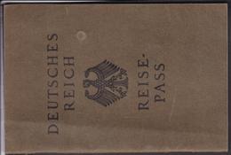 Reisepass Deutsches Reich , Geislingen / Steige , Abtsgmünd - Deutschland