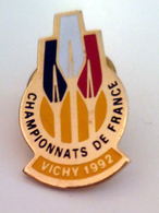 Championnats De France Vichy 1992 Aviron Rudern Rowing Canottaggio Remo - Aviron