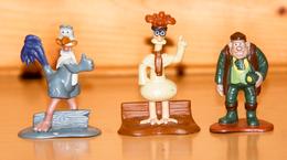 Figurine_cartoon_Chiken Run_dreamworks_7 Figurines - Figurines