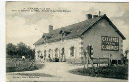 72 - LA DETOURBE - Le Café, Arrêt Du Tramway Du Mans, Mamers Et La Ferté Bernard - Altri Comuni