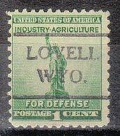 USA Precancel Vorausentwertung Preo, Locals Wyoming, Lovell 716 - Etats-Unis