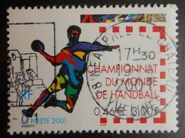 3367 France 2000 Oblitéré Championnat Du Monde De Handball - France