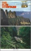 CP The Blue Mountains NSW., Carnet 10 Vues Recto-verso +1= 11 Vues  . Non Circulé-unused - Sydney