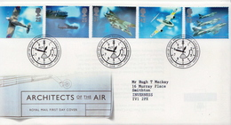 Great Britain Set On Used FDC - Airplanes