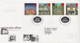 Great Britain Set On Used FDC - Post