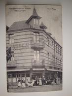 62 Paris-plage Le Touquet  Café-restaurant Du Progrès Meyer-Piat Gros Plan Animé - Le Touquet