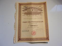 PATHE CONSORTIUM CINEMA (1925) - Actions & Titres