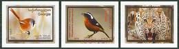 2016 GEORGIA Fauna, Birds. 3v: 0.10, 0.15, 0.20; S/adh - Georgia