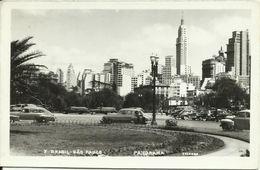 PC / AK Brasilien Brazil Sao Paulo Panorama + Oldtimer 1952 #39 - São Paulo