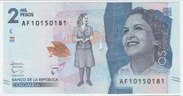 Colombia NEW - 2000 2.000 Pesos 2.8.2016 - UNC - Colombie