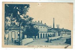 FROUARD La Gare - Circulée 1941 - Frouard