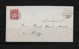 SITZENDE HELVETIA Gezähnt  → Brief Romont Nach Siviriez 1876     ►SBK-38◄ - 1862-1881 Sitzende Helvetia (gezähnt)