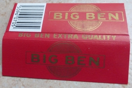 """Carnet De Papier à Cigarettes """"  BIG  BEN  """"   Extra Quality - Empty Cigarettes Boxes"""