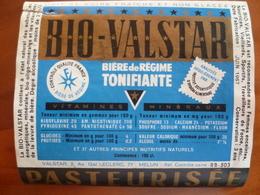 étiquette Ancienne Brasserie Bio Valstar Bière De Régine A MELUN - Cerveza