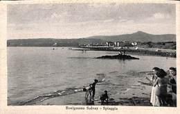 Rosignano Solvay - Spiaggia (animée, 1947) - Livorno