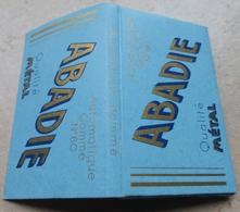 """Carnet De Papier à Cigarettes """"  ABADIE  """"   Automatique Gommé - Qualité Métal  N° 60 - Empty Cigarettes Boxes"""