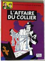 """{15354} Edgar P. Jacobs BD Blake Et Mortimer, L'affaire Du Collier , 1999. Pour Esso.    """" En Baisse """" - Blake Et Mortimer"""