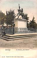 Chili - Santiago - La Estatua San Martin (to Belgium Via Holland 1911) - Chili