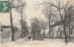 CPA 77 SEINE PORT LE BOULEVARD - France