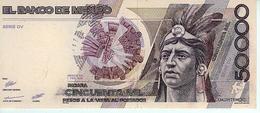 F.C. MEJICO MEXICO , 50000 PESOS 1990 , SUP  , P.93b - Mexico