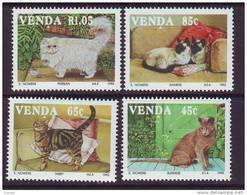 D101225 Venda 1993 South Africa CATS PETS MNH Set - Afrique Du Sud Afrika RSA Sudafrika - Venda