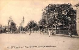British Guinea - Georgetown, High Street Looking Northward (Tuck, Collo-Photo) - Postkaarten