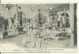 51 - EPERNAY / EMBALLAGE DES BOUTEILLES POUR L'EXPEDITION - Epernay