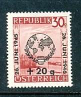 ÖSTERREICH Mi. Nr. 771 Tag Der Liga Der Vereinten Nationen - MNH - 1945-.... 2. Republik