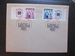 B&M Nr. 53+54, Brief, MiF, 1940, Sonderstempel Prag *DEL2089* - Briefe U. Dokumente