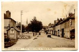 Vlc 03 - Dompierre Sur Besbre : Avenue Centrale Et Place Du Champ De Foire - Andere Gemeenten