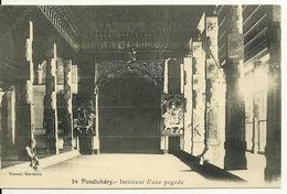 INDE - PONDICHERY / INTERIEUR D'UNE PAGODE - Inde
