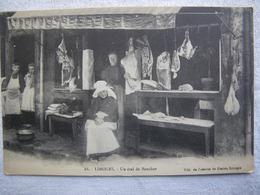 LIMOGES Un Etal De Boucher - Limoges