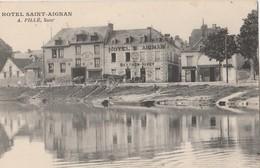 CPA 41 SAINT AIGNAN SUR CHER  HOTEL ST AIGNAN PILLE - Saint Aignan